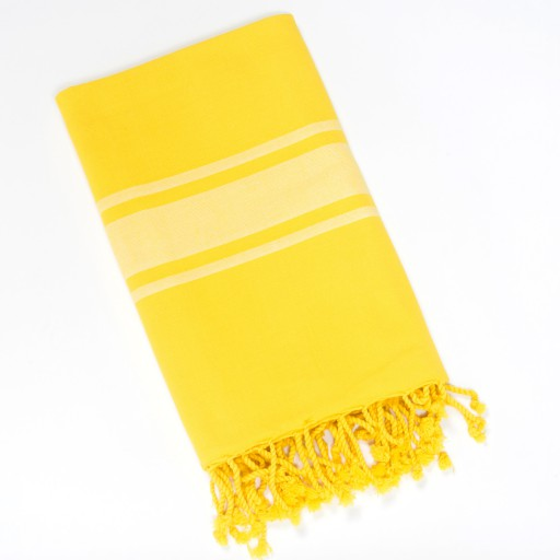 fouta-jaune