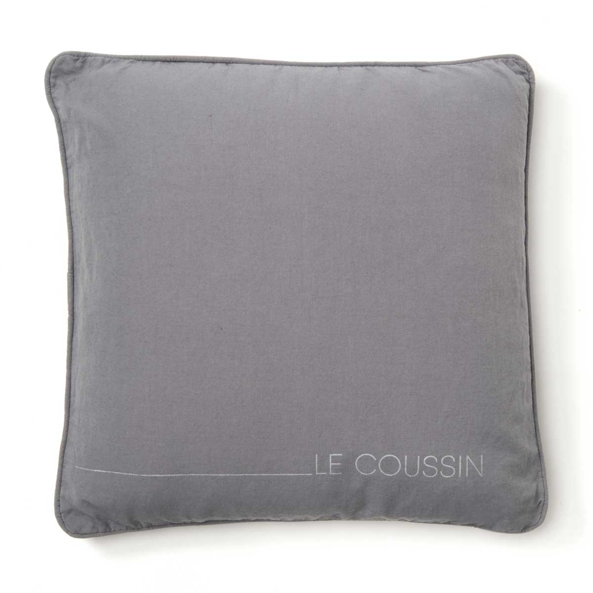 coussin le coussin anthracite gris clair. Black Bedroom Furniture Sets. Home Design Ideas