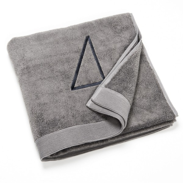 drap de bain fibre bambou gris n 4 gris clair. Black Bedroom Furniture Sets. Home Design Ideas