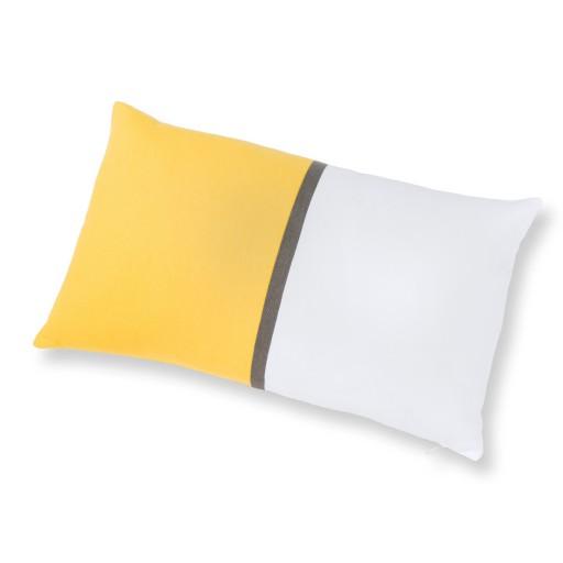 coussin-jaune-blanc